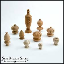 large wooden finials to enlarge large wooden ball finials