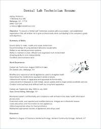 Resume Examples For Medical Laboratory Technician Combined With Lab ...