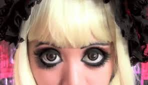 emo cute gothic doll mice phan makeup tutorial gothic