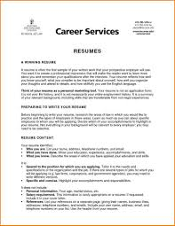 How To Write Resume As Freshman College Student Summary For Students
