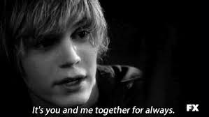 Tate Langdon Quotes Delectable Ahs Cute Black And White GIF On GIFER By Tazahn