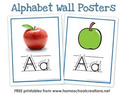 Free Alphabet Flash Cards Alphabet Flash Cards And Alphabet Wall Posters