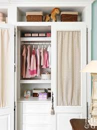 Childrens closet organization Simple Kid Storage Tips For Kids Closets Better Homes And Gardens Kidfriendly Closet Ideas