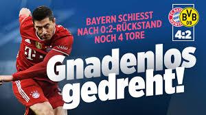 Der klassiker with new head coaches. Bayern Munchen Gegen Borussia Dortmund Liveticker Bundesliga 24 Spieltag 2020 2021 Sport Bild De