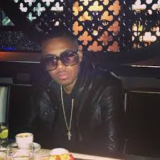 nas wearing hstry clothing x grungy gentleman denim style leather jacket