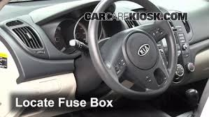 interior fuse box location kia forte kia forte interior fuse box location 2010 2013 kia forte 2010 kia forte ex 2 0l 4 cyl coupe 2 door