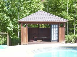 tea house pool cabana asianlandscape small pool shed n31 small