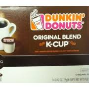 0 calories, nutrition grade (c plus), problematic ingredients, and more. Dunkin Donuts K Cup Original Blend Calories Nutrition Analysis More Fooducate