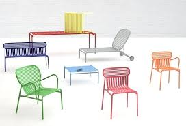 colorful wicker outdoor furniture