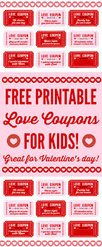 best ideas about love coupons boyfriend coupons printable love coupons for kids on valentine s day