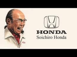 Soichiro Honda Soichiro Honda Quotes Youtube
