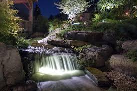 koi pond lighting ideas. fine pond led water feature light idea gallery on koi pond lighting ideas
