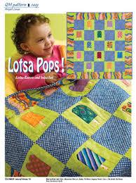 Lotsa Pops, a Quiltmaker freebie in support of Project Linus ... & Lotsa Pops, a Quiltmaker freebie in support of Project Linus. Designed by  Brenda Groelz Adamdwight.com