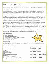Welcome Back To School Letter Templates Preschool Welcome Letter Template Sample Wel E Back To School Letter