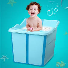 large baby bath tub and toddler bathtub made of eco friendly bpa free food grade material