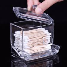 Clear Acrylic Storage Holder Box - Transparent Cosmetic Makeup Organizer
