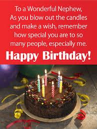 Birthday Cake Cards For Nephew Birthday Greeting Cards By Davia