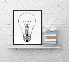 Frame With Drawing Lamp On Shelf And Book Stock Photo Picture And