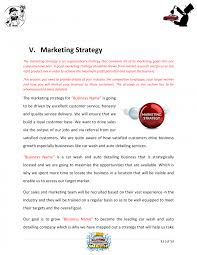 car wash business plan pdf car wash business plan template sample pages black box detailing
