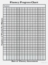 Printable Fluency Progress Chart 37 Rare Reading Fluency Chart Printable Paigehohlt