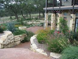 Texas Hill Country Xeriscaping | Hill Country Landscape -- I love this with  the grasses