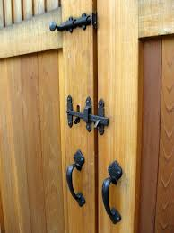 a primer on gate hardware for double gates what exactly do you need with double gates wood or metal there are additional considerations to keep in mind