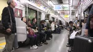 inside subway train. Delighful Inside Tokyo Japan Circa November 2016 Commuters At Subway Train Inside  Metro Wagon Commuting From Work Documentary Editorial Image Stock Video Footage   With D
