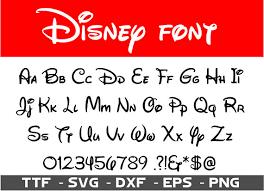 Disney Font Walt Disney Font