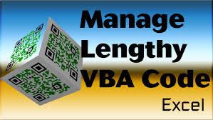 Excel Vba Tips N Tricks 24 Manage Long Vba Sentences Using