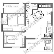 Small 2 Bedroom House Floor Plans Astounding Small Unique House Plans Lovely Decoration 2 Bed House