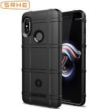 SRHE For Xiaomi Redmi Note 5 Pro Case Cover <b>Soft Silicone</b> ...