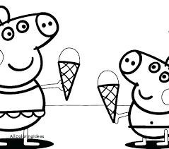 Pig Coloring Page Coloring Pages Of Pigs And Piglets Pig Coloring
