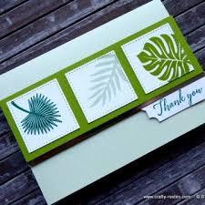 Monochromatic Tropical Chic Cards Chic Monochromatic