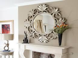 Mirror Brilliant Decorative Mirrors For Living Room With Classic Modern Mirrors For Living Room