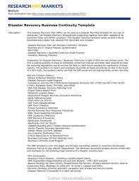 Simple Checklist Template Business Continuity Plan Template Ms Wordexcel Templates Forms