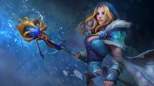 crystal maiden wallpapers dota 2 and e sports geeks dota 2 and e