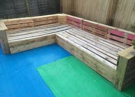 diy pallet patio or garden corner sofa 99 pallets
