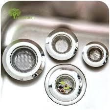 hair strainer for sink three size stainless steel bathtub hair catcher stopper shower drain hole filter