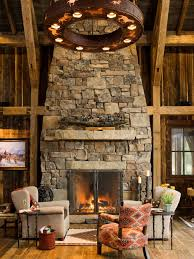 rustic fireplace simple rustic fireplace ideas pictures remodel and decor