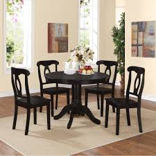 better homes gardens mercer 5 piece counter height dining set includes table and 4 chairs vintage oak finish com