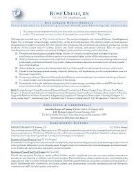 nursing resume icu rn sample resume