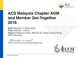 ACS Malaysia Chapter - Home | Facebook