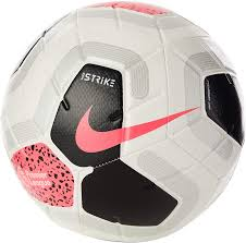 Amazon.com : Nike Premier League Strike Ball (White/Black/Cool Grey/Racer  Pink, 4) : Sports & Outdoors