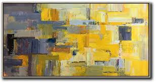 large modern abstract painting horizontal palette knife contemporary art panoramic canvas painting acrylic painting on canvas