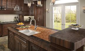 kitchen design butcherblock counters