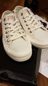 converse egret. the day my converse holiday exclusive in egret rose gold arrived! o