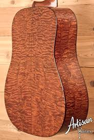 2006 Bourgeois Country Boy Deluxe Quilted Sapele and Adirondack ... & Scale: Adamdwight.com