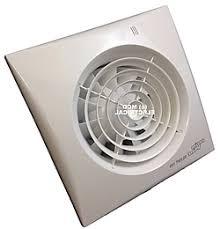 sensing bathroom fan quiet: the envirovent silent  ht bathroom extractor fan comes with a humidity sensor built in