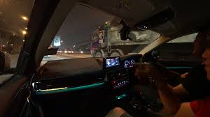This Is How The Bmw G30 520is Interior Look Like At Night Evomalaysia Com