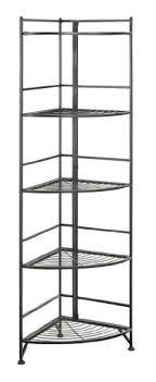 Metal Corner Shelving Unit Impressive Tall Metal Corner Shelf Unit For Inside Or Outside And Wouldn't